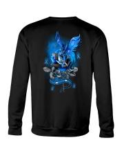 Diabetes Dragon Rose 2 Sides Crewneck Sweatshirt tile