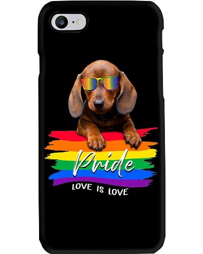 Lgbt Love Is Love With Dachshund