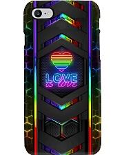 Lgbt Love Is Love Neon Phone Case Phone Case i-phone-8-case