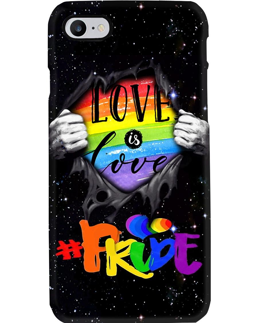 LGBT - Love Is Love PC Phone Case