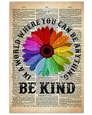 LGBT Be Kind Dictionary  11x17 Poster front