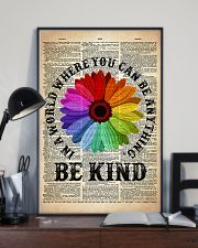 LGBT Be Kind Dictionary  11x17 Poster lifestyle-poster-2