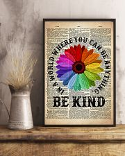 LGBT Be Kind Dictionary  11x17 Poster lifestyle-poster-3