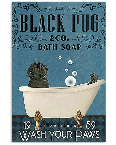 Bath Soap Company Pug