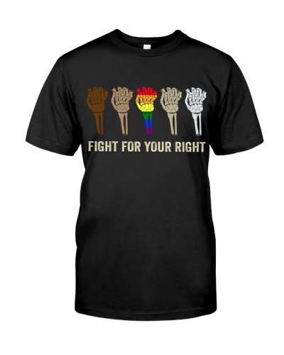 LGBTQ Fight For Your Right LIMITED EDITION 19