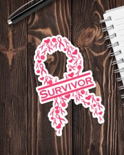 Breast Cancer Survive Sticker - Single (Vertical) aos-sticker-single-vertical-lifestyle-front-05