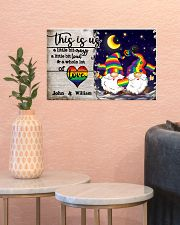 Personalized LGBT - Gnome This is us Poster 17x11 Poster poster-landscape-17x11-lifestyle-21