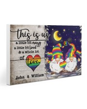 Personalized LGBT - Gnome This is us Poster Gallery Wrapped Canvas Prints tile