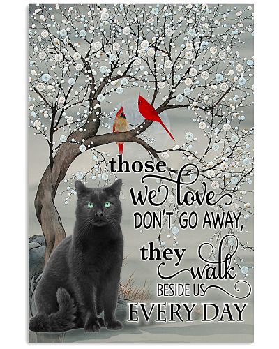 Poster - Black Cat Every Day