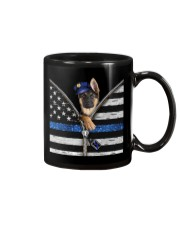 German Shepherd - Back The Blue Mug thumbnail