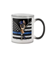German Shepherd - Back The Blue Color Changing Mug thumbnail