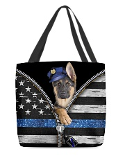 German Shepherd - Back The Blue All-over Tote back