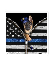 German Shepherd - Back The Blue Sticker - Single (Vertical) thumbnail