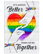 LGBT - We Are Together Poster 11x17 Poster front