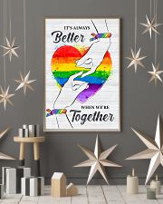 LGBT - We Are Together Poster 11x17 Poster lifestyle-holiday-poster-1