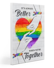 LGBT - We Are Together Poster 20x30 Gallery Wrapped Canvas Prints thumbnail