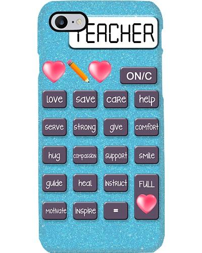 TEACHER - LOVE CALCULATOR  - CASE PHONE