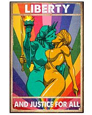 LGBT - Liberty And Justice For All Poster 11x17 Poster front