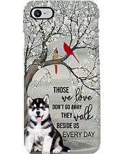 Husky - They Walk Beside Us Everyday  Phone Case i-phone-7-case