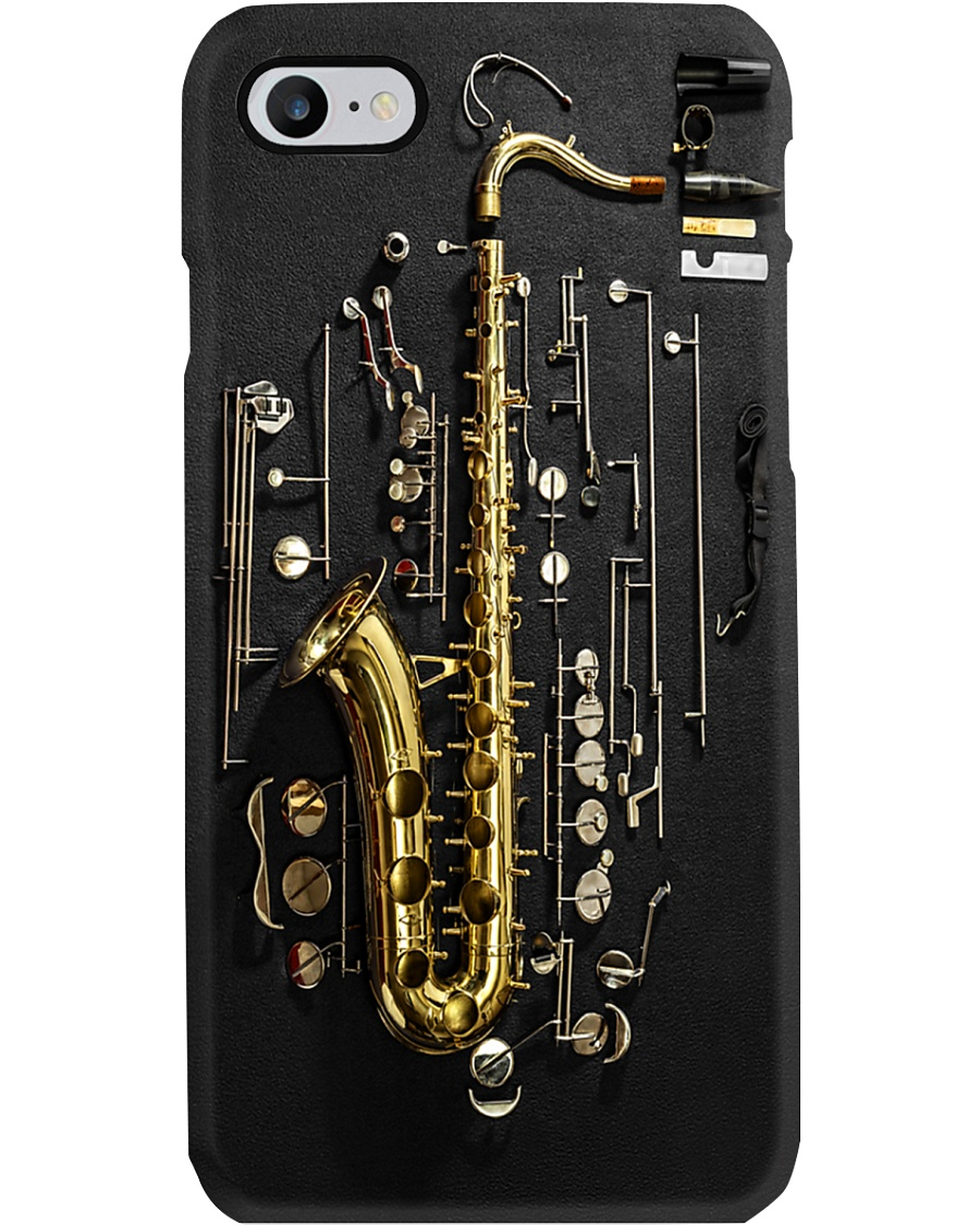 Saxophone Exploded View  Phone Case