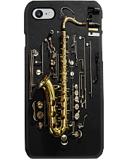 Saxophone Exploded View  Phone Case i-phone-7-case