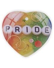LGBT Pride Ornament Heart ornament - single (wood) thumbnail