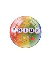 LGBT Pride Ornament Circle Magnet thumbnail