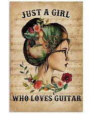 Just A Girl Who Loves Guitar  11x17 Poster front