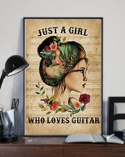 Just A Girl Who Loves Guitar  11x17 Poster lifestyle-poster-2
