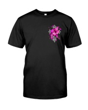 Breast Cancer - Faith Hope Love 2 Sides  Classic T-Shirt front