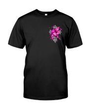 Breast Cancer - Faith Hope Love 2 Sides  Premium Fit Mens Tee tile