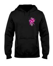 Breast Cancer - Faith Hope Love 2 Sides  Hooded Sweatshirt tile