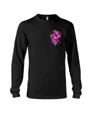 Breast Cancer - Faith Hope Love 2 Sides  Long Sleeve Tee tile