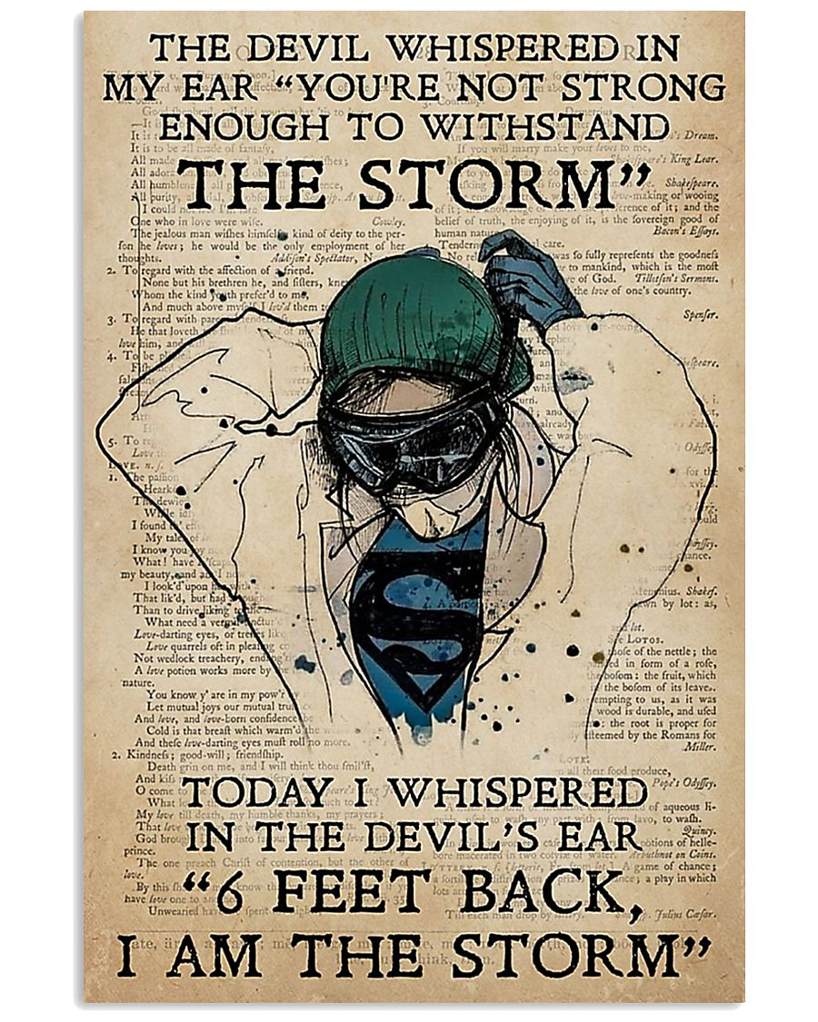 Nurse I Am The Storm  11x17 Poster