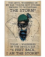 Nurse I Am The Storm  11x17 Poster front