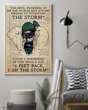 Nurse I Am The Storm  11x17 Poster lifestyle-poster-1