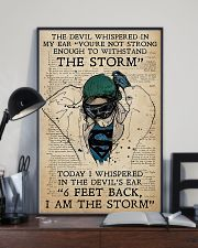 Nurse I Am The Storm  11x17 Poster lifestyle-poster-2