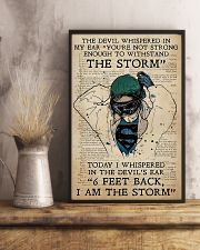 Nurse I Am The Storm  11x17 Poster lifestyle-poster-3