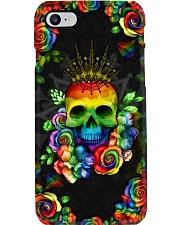 LGBT Skull Loves Case Phone Case i-phone-8-case