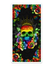 LGBT Skull Loves Case Sticker tile