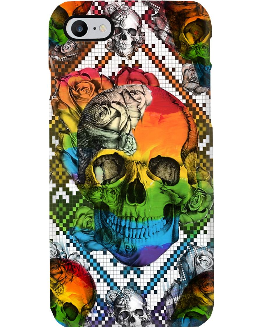 LGBT Skull Roses Phone Case Phone Case