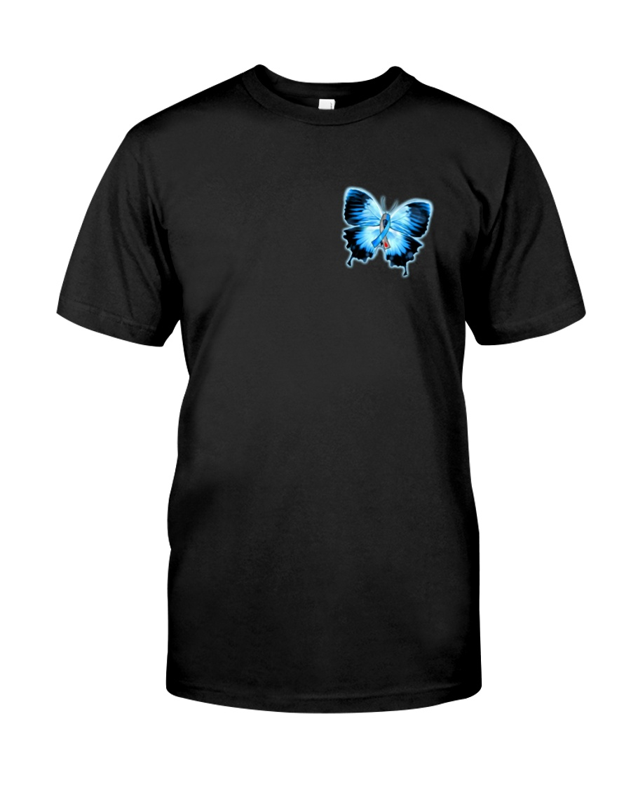 Diabetes Faith Hope Love 2 Sides Classic T-Shirt