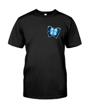 Diabetes Faith Hope Love 2 Sides Classic T-Shirt front