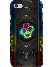 Autism Neon Phone Case Phone Case i-phone-8-case