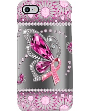 Breast Cancer - Butterfly Diamond Phonecase Phone Case i-phone-7-case