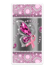 Breast Cancer - Butterfly Diamond Phonecase Sticker - Single (Vertical) thumbnail