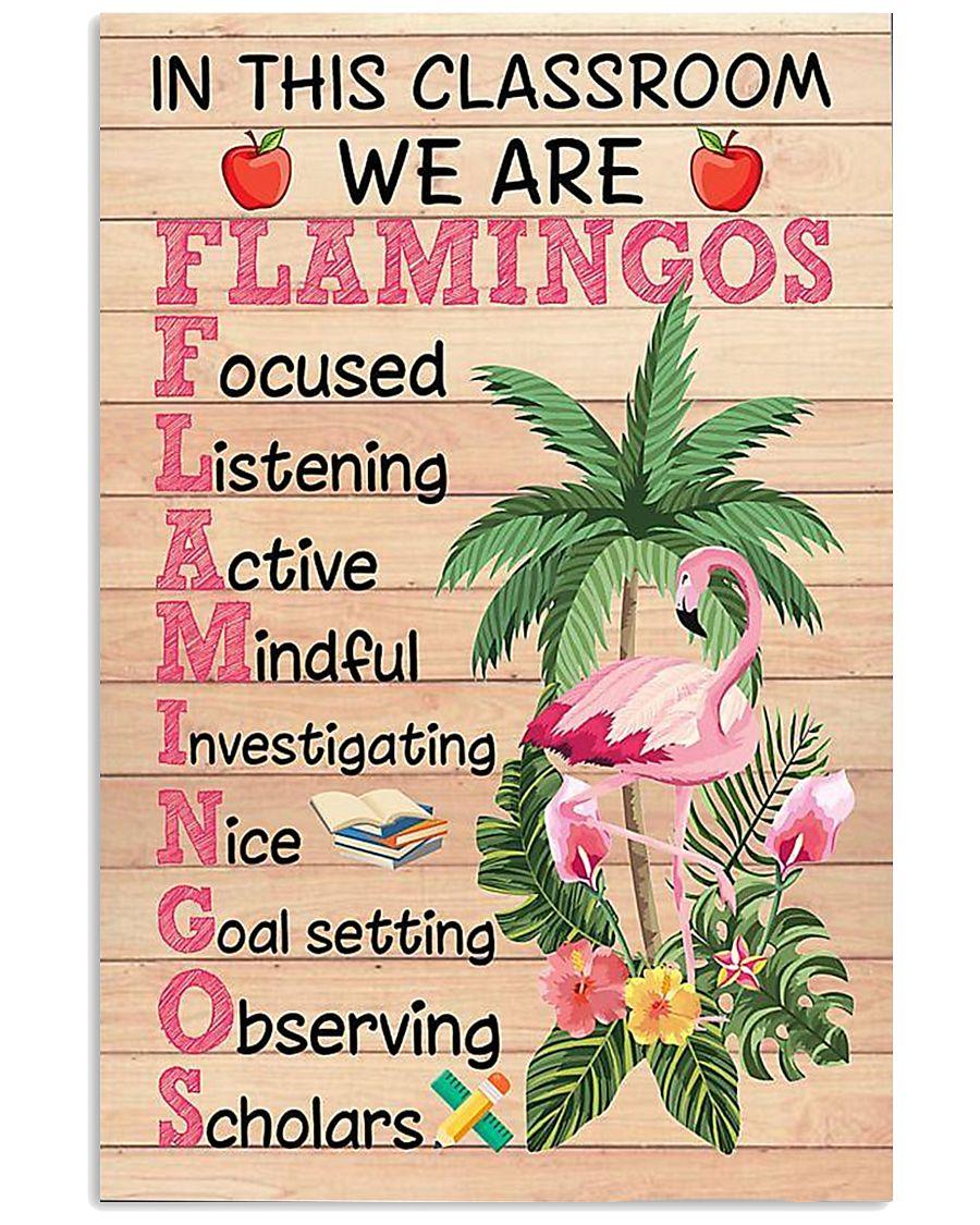 Teacher Flamingo 11x17 Poster