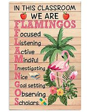 Teacher Flamingo 11x17 Poster front