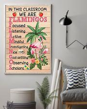 Teacher Flamingo 11x17 Poster lifestyle-poster-1
