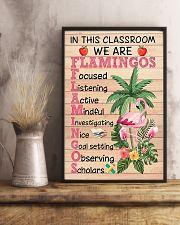 Teacher Flamingo 11x17 Poster lifestyle-poster-3